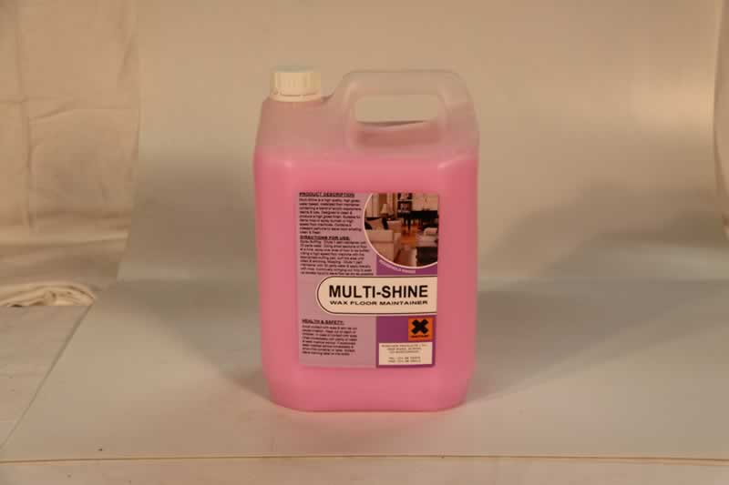 Hygiene And Cleaning Supplies Multi Shine Wax Floor Maintainer